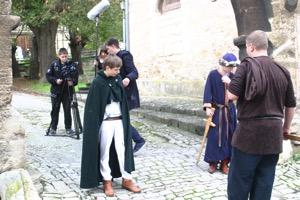 Filmdreh am Mainzer Hof