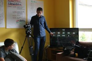 Florian erklärt die Kameratechnik